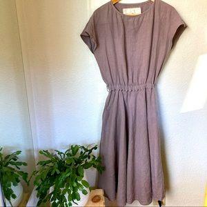 Not Perfect Linen Dress Small